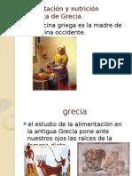 Alimentación y Nutrición Histórica de Grecia