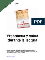 Ergonomia y Salud Durante La Lectura