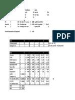 Cashflow Example