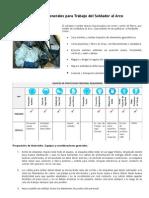 Medidas Generales Para Trabajos Con Soldadura Al Arco