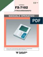69 FElectrocardiograph CardiMax FX-7102 Imanuale Ita