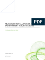 QLIKVIEW DEVELOPMENT AND DEPLOYMENT ARCHITECTURE