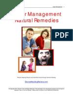 Anger Natural Remedies
