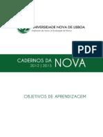 Objetivos_aprendizagem - Un. Nova de Lisboa