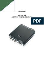 DDS-3X25 User Manual