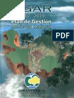 PGAR Plan de Gestion Ambiental Regional 2007-2019
