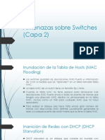 Amenazas Sobre Switches (Capa 2)