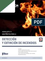 Guía Detección y Extinción de Incendio