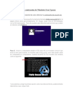 Cómo Eliminar Laewr Contraseña de Windows 8 en 5 Pasos