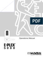 EPlex 5000 Operations Manual
