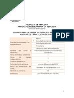 PARCELADOR Historia de La Iglesia Contemporánea y Colombiana 2015-II