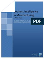 BI for Manufacturing White Paper