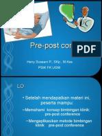 Pre Post Conference