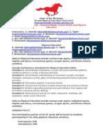 health and physcial education syllabi 2015-2016