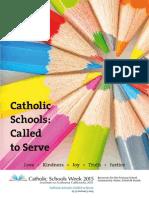 Catholic Schools Week 2015 Primary_Resource-Book