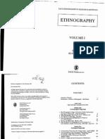 Alan Bryman (Ed.) Ethnography