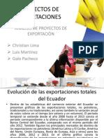 Exportaciones Ecuador