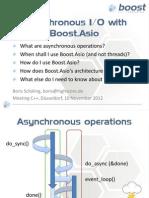 Boost.asio - Asynchronous IO