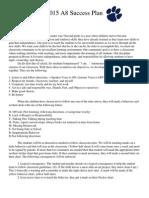 2015 dicipline plan