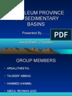 Petroleum province and sedimentary basins