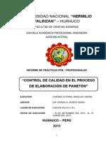 Ppp- Control de Calidad en El Proceso de Panetones - Dueñas Cotrina Angeles
