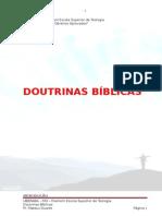 teologia - Doutrinas Bíblicas