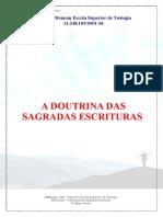 teologia - Doutrina Das Sagradas Escrituras (Bibliologia)