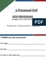 Direito Processual Civil Novo II Aula 01 Atos Processuais i63639157320