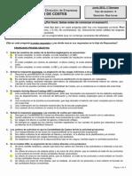 Examen Contabilidad de Costes ADE UNED 2013 Junio