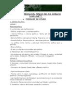 Programa Teoria Del Estado Catedra Sanguinetti