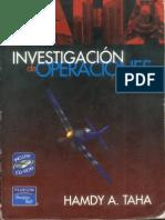 Taha a. 2004 . Manual de Investigacion de Operaciones