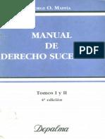 Maffia - Manual de Der. Sucesorio -Tomo I