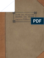 How to Analyze People on Sight by Elsie Lincoln Benedict and Ralph Paine Benedict