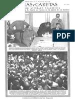Caras y Caretas - Primer Gobierno de Yrigoyen