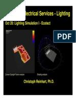 Lighting Simulation I