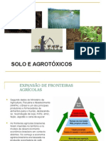 Solo e Agrotóxicos