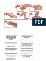 7 Langkah Cuci Tangan Yang Benar Menurut WHO (IND & ENG)