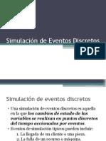 Simulación de Eventos Discretos