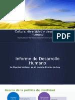 Cultura, Diversidad y Desarrollo Humano