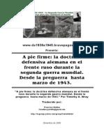 Ficha - Doctrina Defensiva Alemana Frente Ruso - De1939a1945.Bravepages