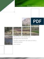 Desarrollo rural desde una perspectiva territorial