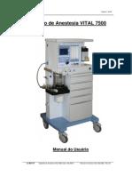 Aparelho de Anestesia Vital 7500 (1)