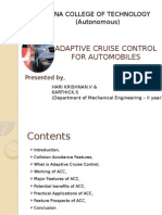 The Acc for Automobiles