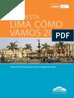 EncuestaLimaComoVamos-2011