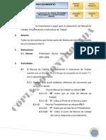 Elaboración de Manual, Procedimientos e Instructivos