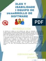 Roles y Resposabilidades de Un Equipo de Proyectos Inf.