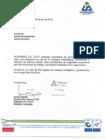 Carta de Recomendacion de Interaseo para eScan Anti-Virus