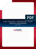 UW Health Strategic Plan