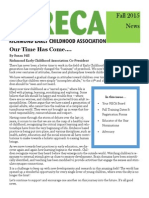RECA Newsletter Fall 2015