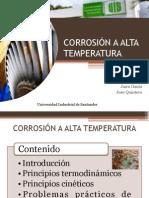 Corrrosion Alta Temperatura